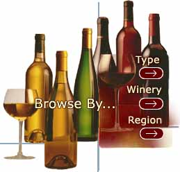 Screen Shot: Browse By Type/Winery/Region