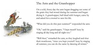 The Ants and the Grasshopper